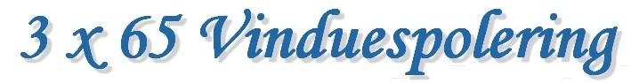 Vinduespolering 3 x 65 Logo